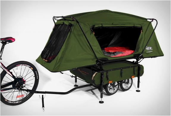 BICYCLE CAMPER TRAILER | BY KAMP-RITE | Image