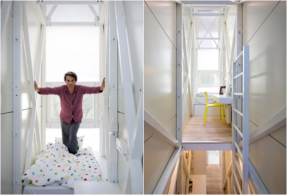 KERET HOUSE | WORLDS THINNEST HOUSE | Image