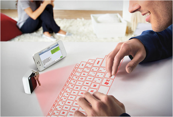 KEYCHAIN VIRTUAL PROJECTION KEYBOARD | Image