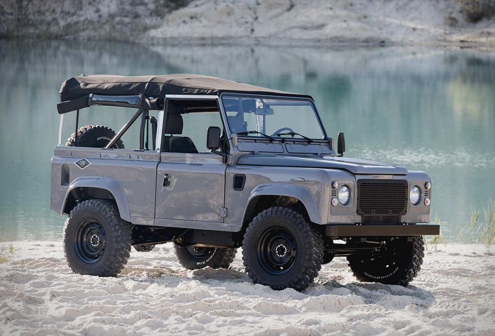 Land Rover D90 Grey | Image