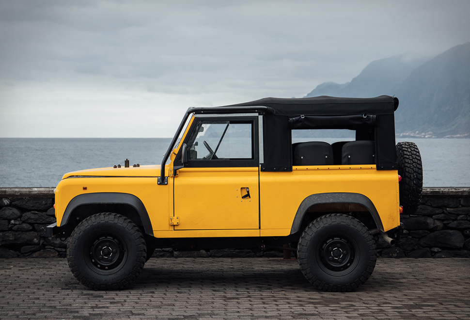 DEFENDER D90 BEACH RUNNER | Image