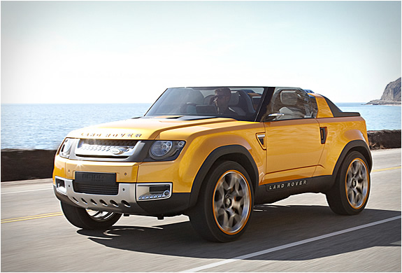 LAND ROVER DC100 SPORT CONCEPT | Image