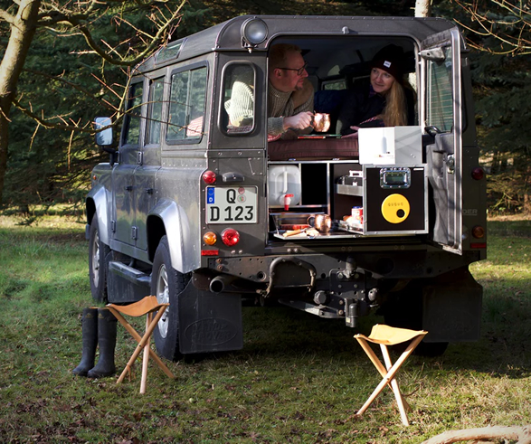 Land Rover Defender Motorhome on Camper Water System