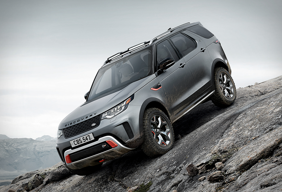 Land Rover Discovery SVX | Image
