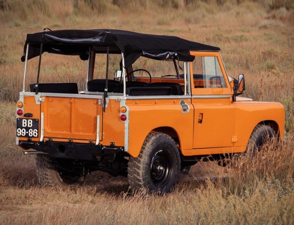 Land Rover Series 2a