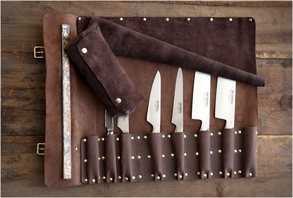 Goodson Leather Knife Roll | Image