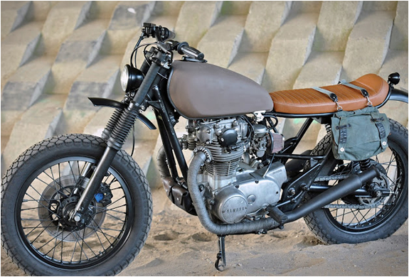 YAMAHA XS650 SCRAMBLER | BY LEFT HAND CYCLES | Image