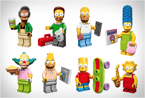LEGO SIMPSONS MINIFIGURES | Image