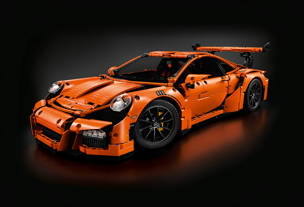 lego technic porsche 911 gt3 rs. Black Bedroom Furniture Sets. Home Design Ideas