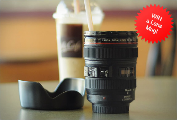 Lens Mug | Giveaway Two Lens Mugs | Image