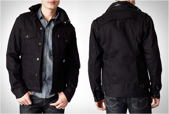 Levis 2012 Commuter Hooded Trucker Jacket