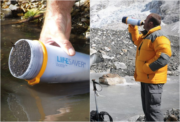 Lifesaver Bottle | Portable Water Filter | Image