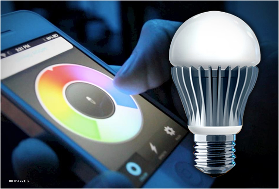 LIFX | SMARTPHONE CONTROLLED LIGHT BULB | Image