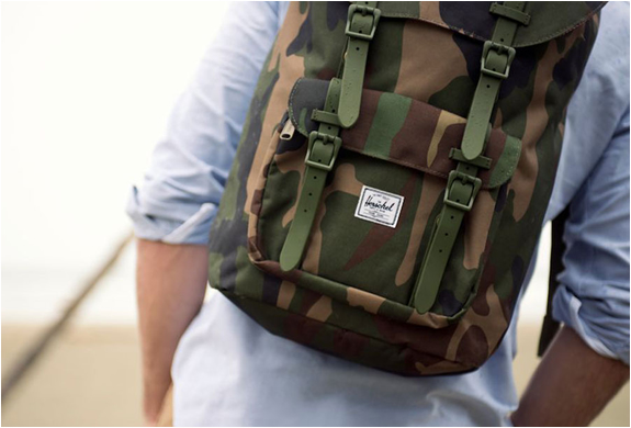 LITTLE AMERICA BACKPACK CAMO | Image