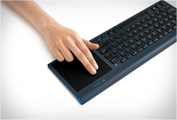 Logitech Wireless Keyboard & Trackpad | Image