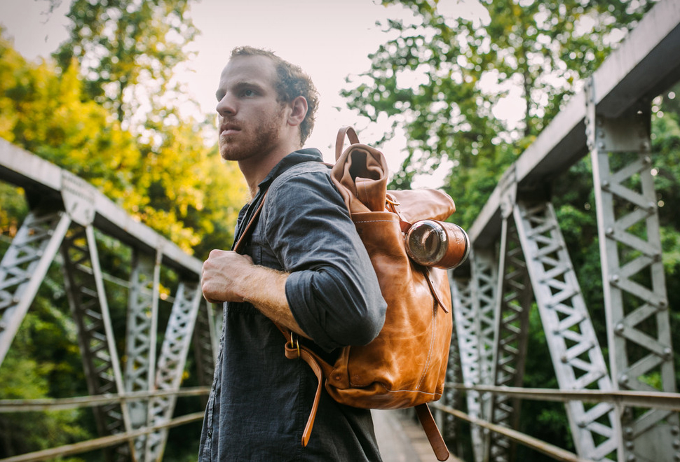 LOYAL STRICKLIN LEATHER RUCKSACK | Image