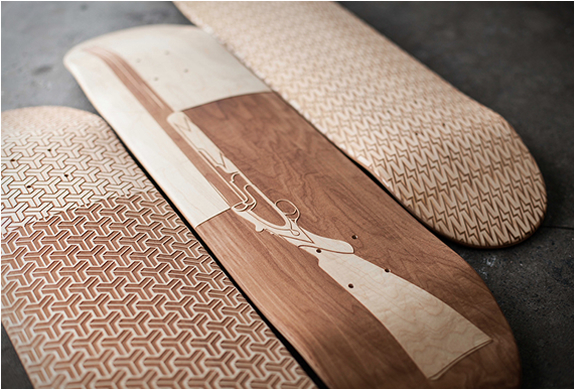 Magnetic Kitchen Laser Engraved Skate Decks | Image
