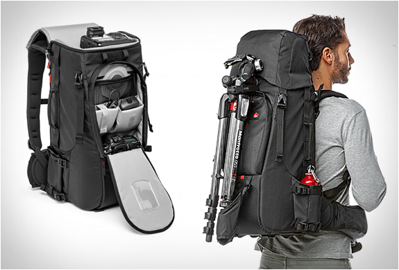 PRO LIGHT CAMERA BACKPACK | BY MANFROTTO | Image
