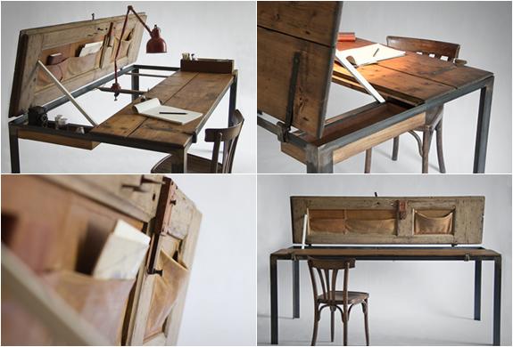 Indoor Door Table By Manoteca