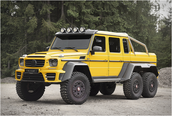 Mercedes-benz Amg 6x6 | By Mansory | Image
