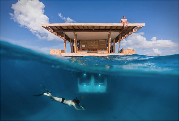 Manta Resort Underwater Room | Image