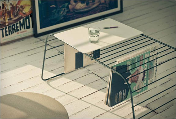 MARC | COFFEE TABLE & MAGAZINE RACK | Image