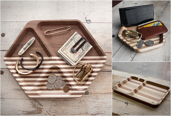 EDC WOODEN TRAYS | BY MAXX & UNICORN CO | Image