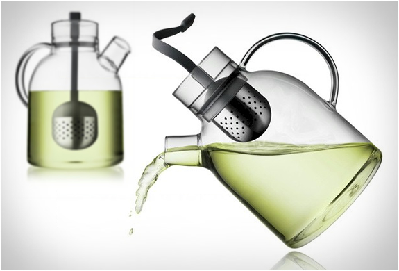 GLASS KETTLE TEAPOT | BY MENU | Image
