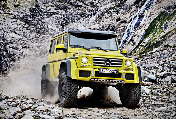 MERCEDES-BENZ G500 4X4 SQUARED | Image