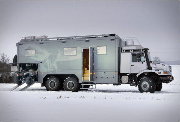 Mercedes-benz Zetros | 6x6 Expedition Vehicle | Image