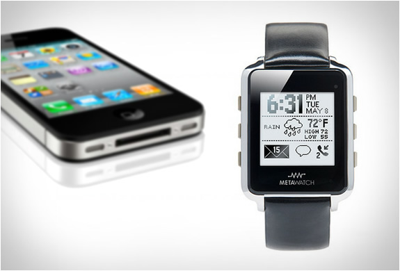 META WATCH | BLUETOOTH SMARTWATCH | Image