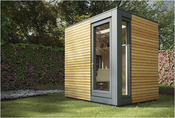 Micro pod garden studio for Garden office buildings