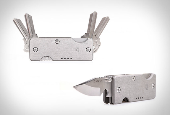 Mini Q | Key Organizer & Knife | Image