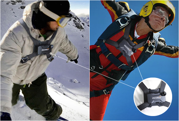MIVEU-X | TURN YOUR IPHONE INTO AN ACTION CAMERA | Image