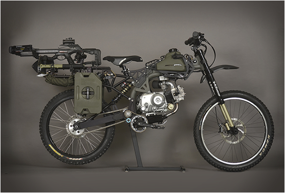 MOTOPED SURVIVAL BIKE | Image