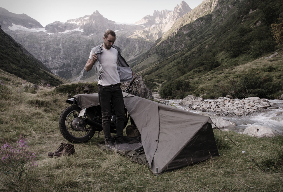 MOTORCYCLE BIVOUAC & STAY EXPOSED #MOTORCYCLE #BIVOUAC TENT u2013 MotorCove :