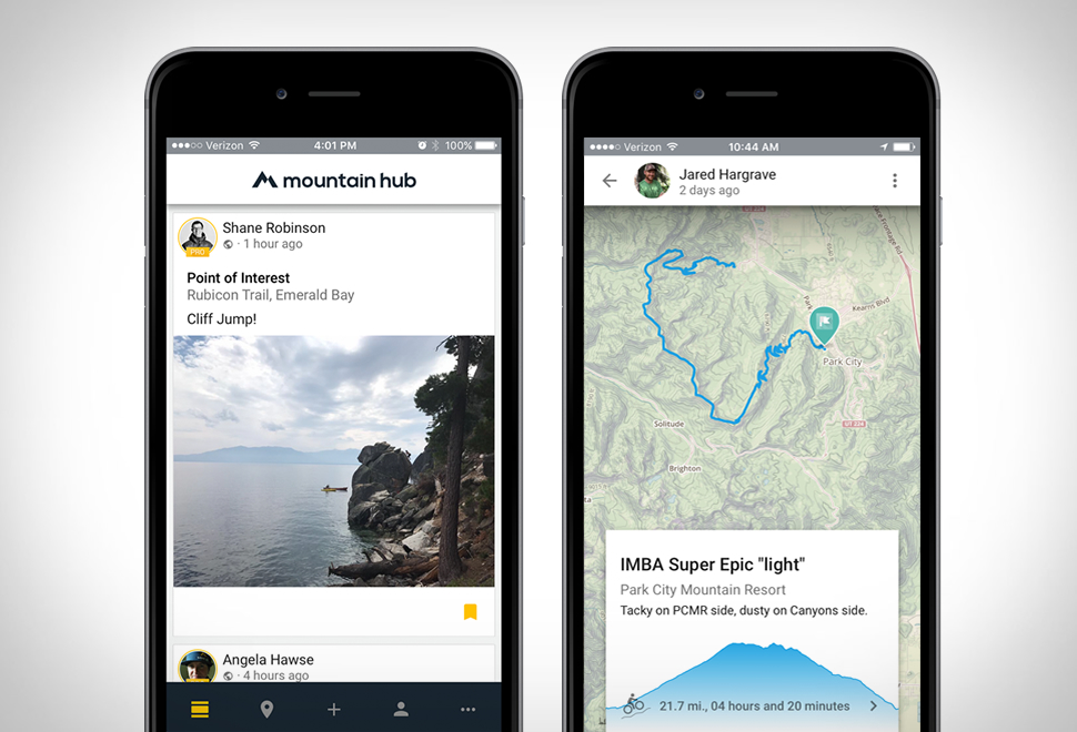 MOUNTAIN HUB APP | Image