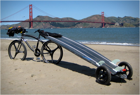Paddle And Surfboard Trailer | Image