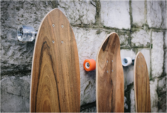 MURKSLI HANDCRAFTED WOODEN SKATEBOARDS | Image