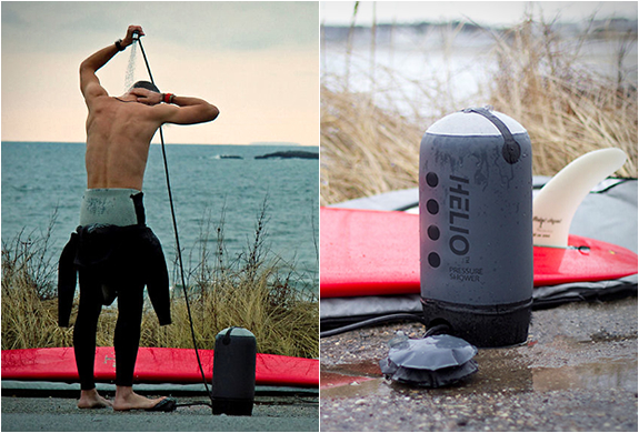 HELIO PORTABLE PRESSURE SHOWER | BY NEMO | Image