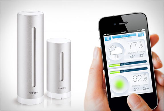 NETATMO | PERSONAL WEATHER STATION | Image