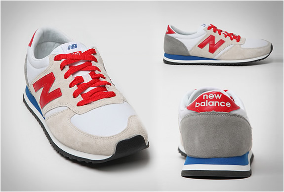 new balance retro running shoes
