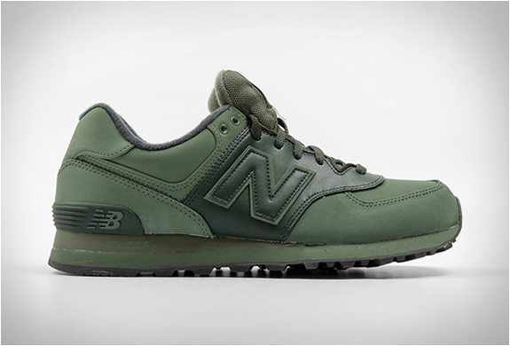 NEW BALANCE 574 CHROMA MILITARY GREEN | Image