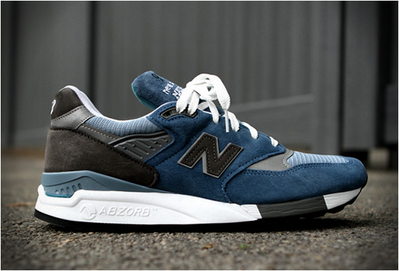 New Balance 998 Blue Denim | Image