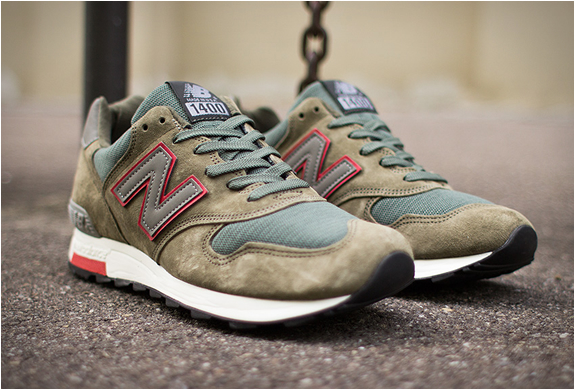 new balance 1400 army green