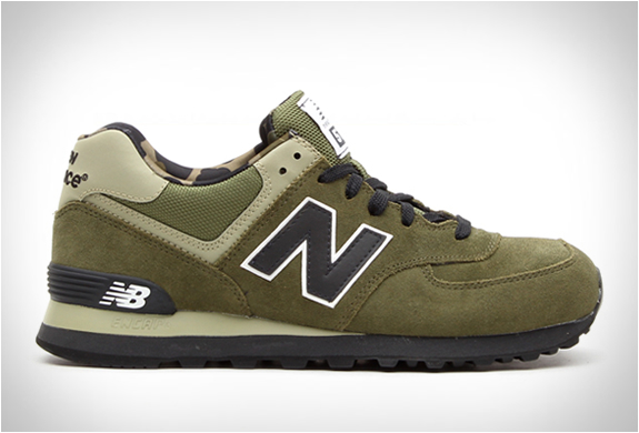 New Balance Ml574 Military Camo | Image