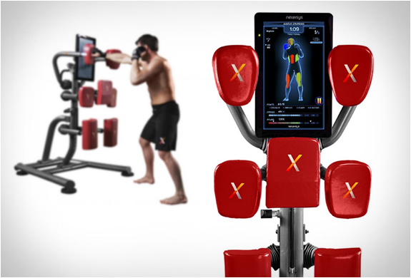 punching workout machine