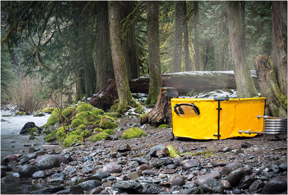 NOMAD COLLAPSIBLE HOT TUB | Image