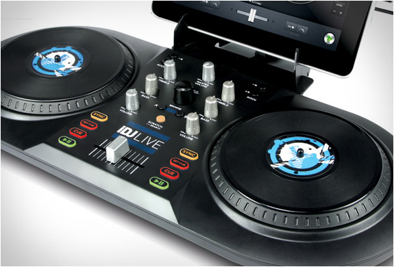 Máy DJ Numark iDJ Live dành cho Iphone, Ipad và Ipod