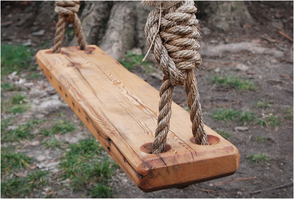 old fashioned tree swing by peg awl